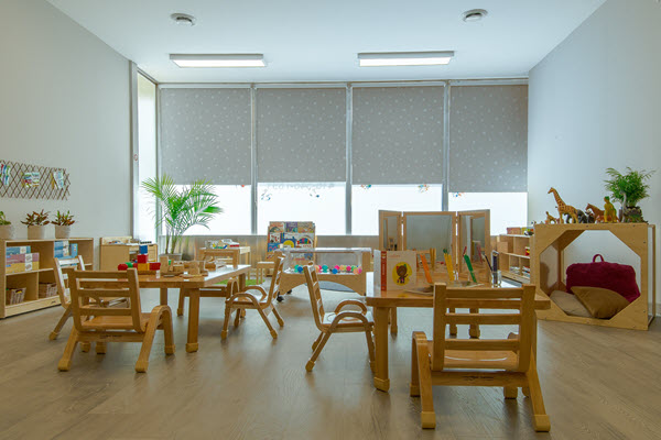 Alphabet Treehouse Childcare Toddler Room